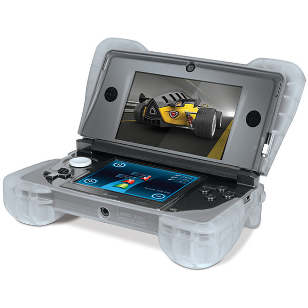 DreamGear DG3DS-4218 Nintendo 3DS Comfort Grip - Clear White