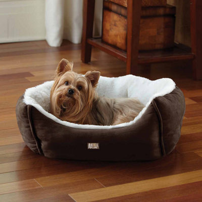 Animal Planet Small Micro Suede Pet Bed