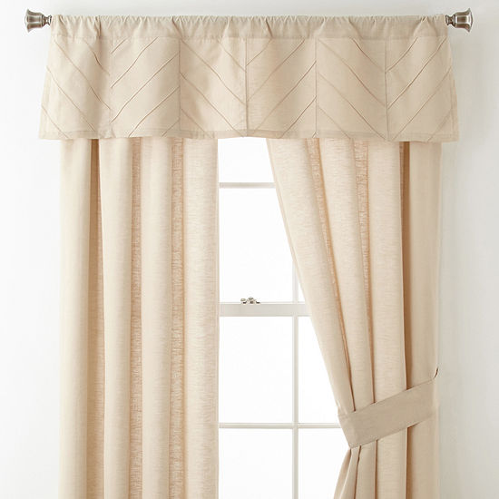 Home Expressions Rod-Pocket Single Curtain Panel