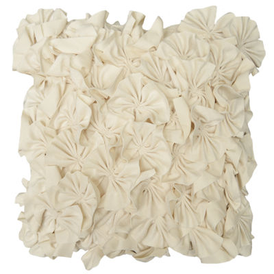 "18"" Meadow Ruffle Decorative Pillow"