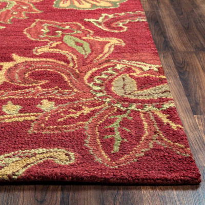 Rizzy Home Ashlyn Paisley Rectangular Rugs