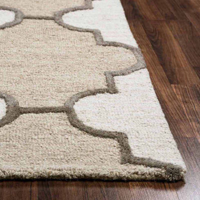 Rizzy Home Caterine Trellis Rectangular Rugs