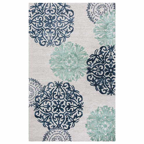 Rizzy Home Eden Harbor Medallion Rectangular Rugs