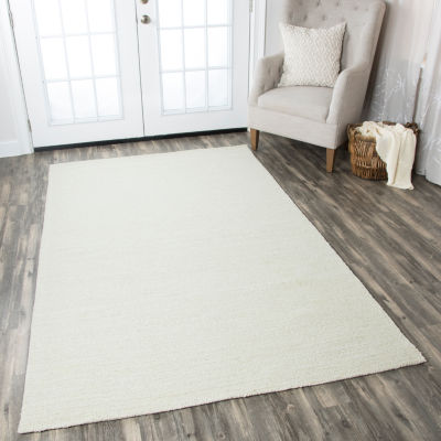 Rizzy Home Country Solid Rectangular Rugs