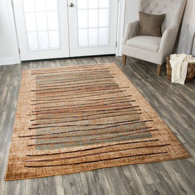 Rizzy Home Bellevue Abstract Rectangular Runner