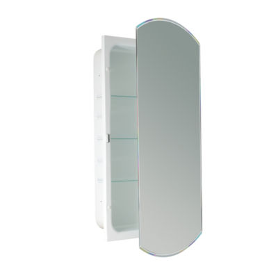 Recessed beveled eclipse medicine cabinet jcpenney for Bathroom cabinets jcpenney