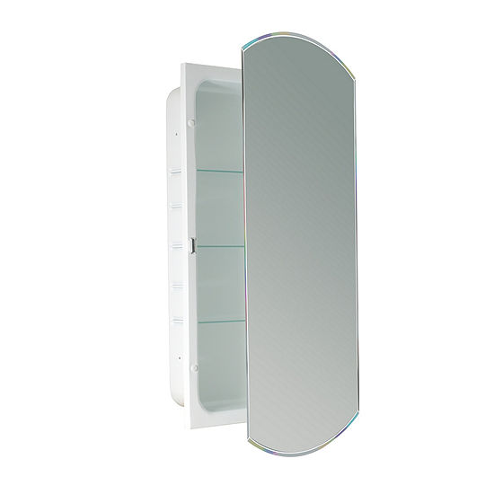Recessed Beveled Eclipse  Medicine Cabinet