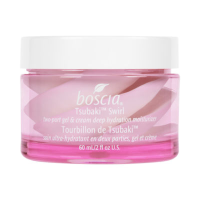 boscia Tsubaki™ Swirl Two-Part Gel & Cream Deep Hydration Moisturizer