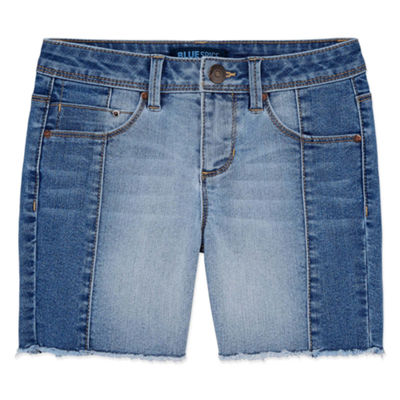 Squeeze Denim Shorts - Big Kid Girls Plus