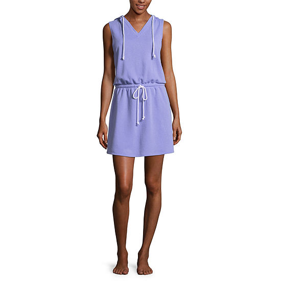 Flirtitude Hooded Dress - Juniors