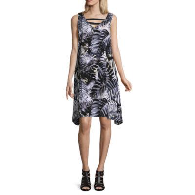 Project Runway Front Strap Maxi Dress