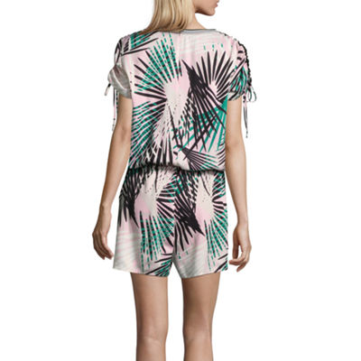 Project Runway Drawstring Romper