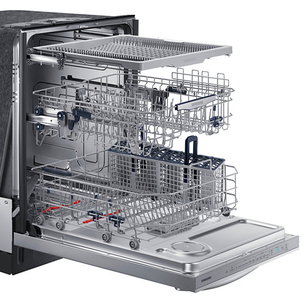 "Samsung ENERGY STAR® 24"" StormWash Dishwasher with Stainless Steel Tub and 3rd Rack"