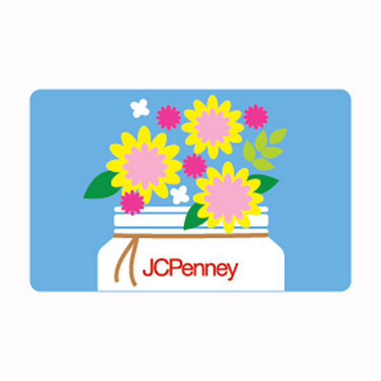 Flower Jar Gift Card