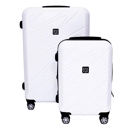 80e1e1248 Ful Scribble 2 pc Hardside Luggage Set JCPenney