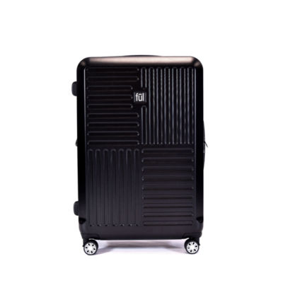 Ful Urban Grid 29 Inch Hardside Luggage Silver