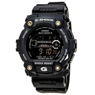 Casio Mens Black Strap Watch-Gw7900-1
