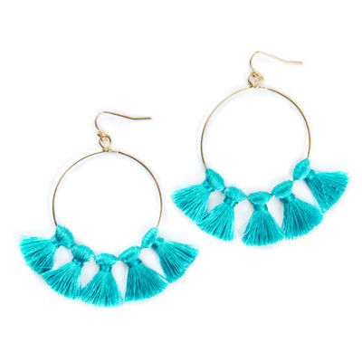 Bijoux Bar 76mm Hoop Earrings