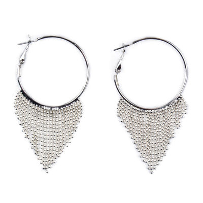 Bijoux Bar 61mm Hoop Earrings