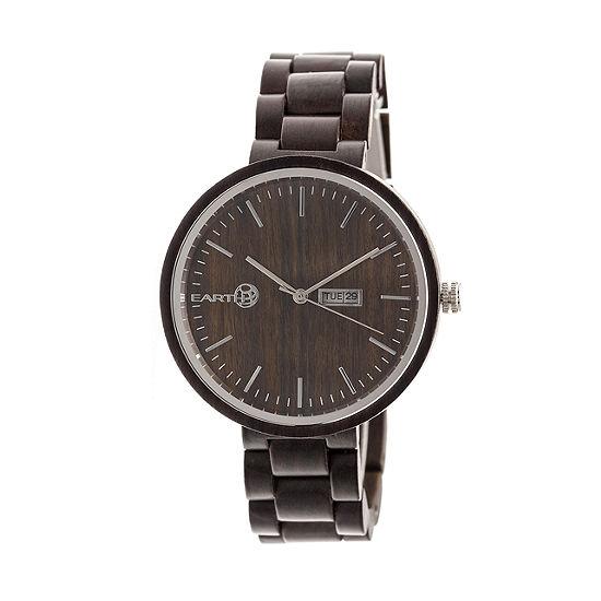 Earth Wood Unisex Adult Brown Bracelet Watch-Ethew5402