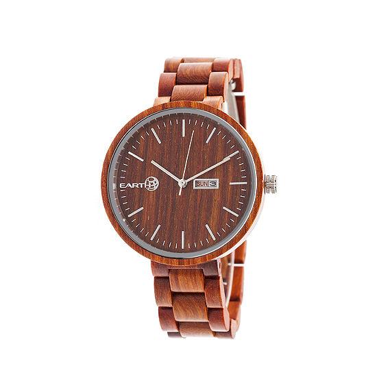 Earth Wood Unisex Bracelet Watch-Ethew5403