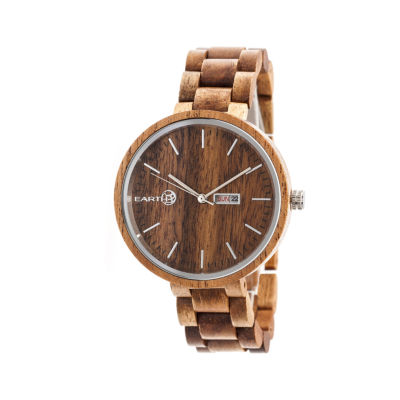 Earth Wood Unisex Bracelet Watch-Ethew5404