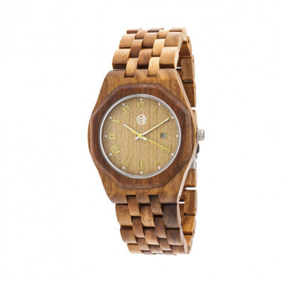 Earth Wood Unisex Green Bracelet Watch-Ethew5504