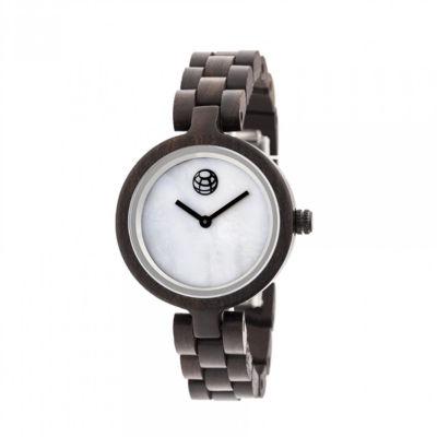 Earth Wood Unisex Brown Bracelet Watch-Ethew5602