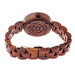 Earth Wood Unisex Red Bracelet Watch-Ethew5603