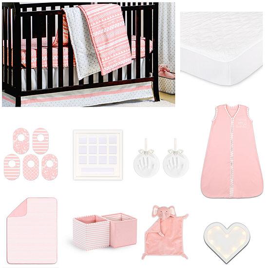 The Peanut Shell Crib Bedding Set
