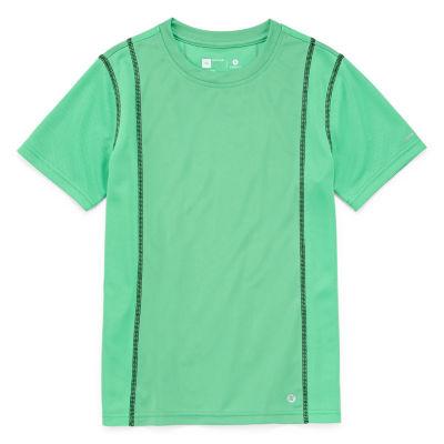 Xersion Short Sleeve Trainer Tee Boys Husky