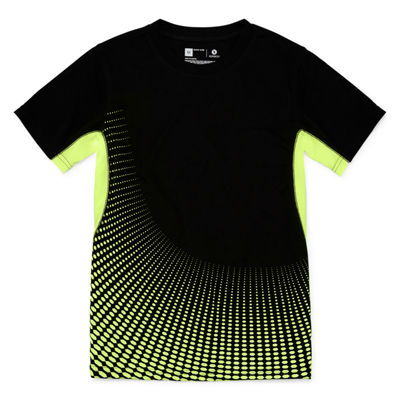Xersion Short Sleeve Trainer Tee Boys Husky