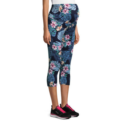Planet Motherhood Ultra Soft Cropped Leggings - Maternity