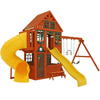 Kidkraft Twin Mountain Lodge Playset