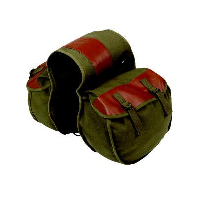 Stansport Canvas Saddle Bag