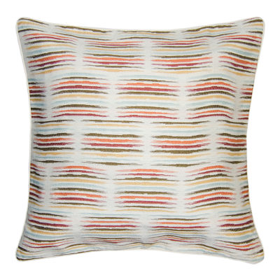Mikado Square Throw Pillow