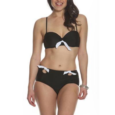 Sun and Sea Blossom Bikini Top
