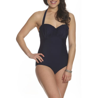 Sun and Sea Woodstock Scalloped Top One Piece Swimsuit