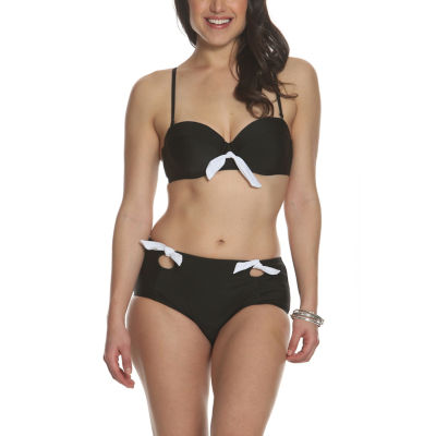Sun and Sea Blossom Bikini Top - Plus