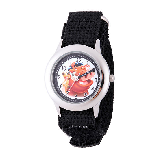 Disney Lion Guard Boys Black Strap Watch-W002135