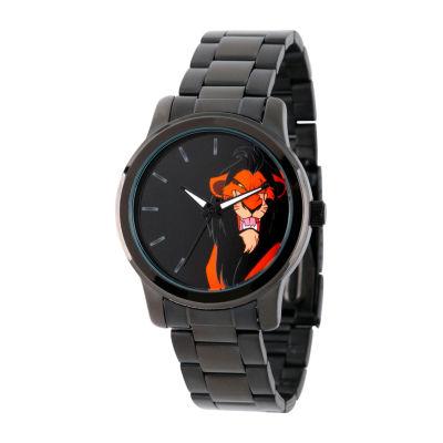 Disney The Lion King Mens Black Bracelet Watch-W002139