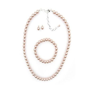 Vieste Rosa Womens 3-pc. Necklace Set