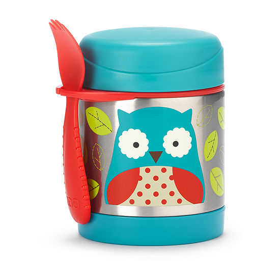 Skip Hop Zoo Insulated Food Jar-Owl Baby Utensil