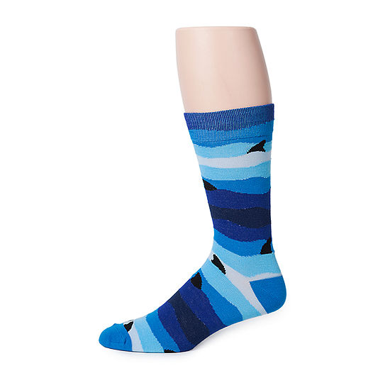 Reckless 1 Pair Crew Socks-Mens
