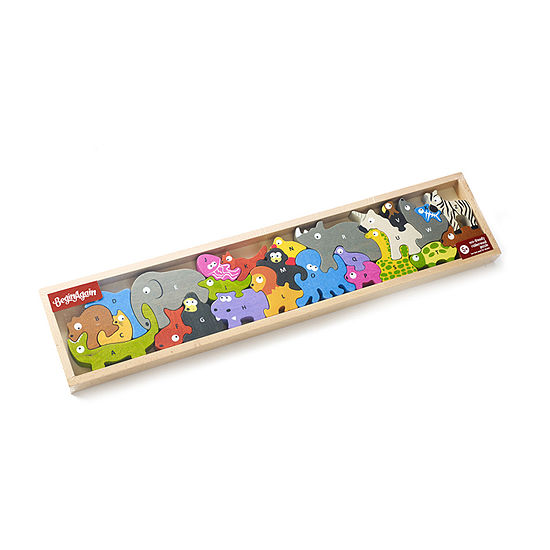 Animal Parade A-Z Wooden Puzzle
