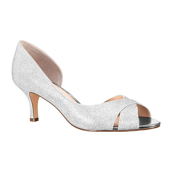 I. Miller Womens Candra Pumps Peep Toe Stiletto Heel