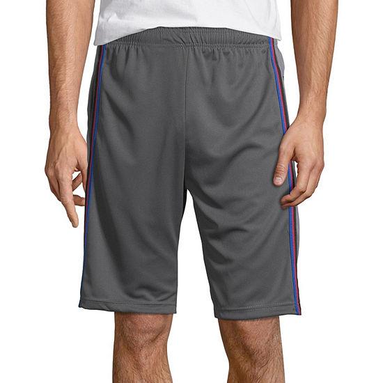 La Gear Mens Drawstring Waist Workout Shorts