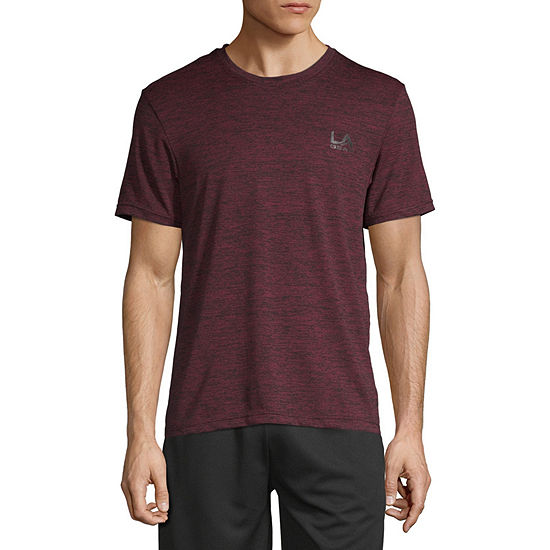 La Gear Mens Crew Neck Short Sleeve Dri-Fit T-Shirt