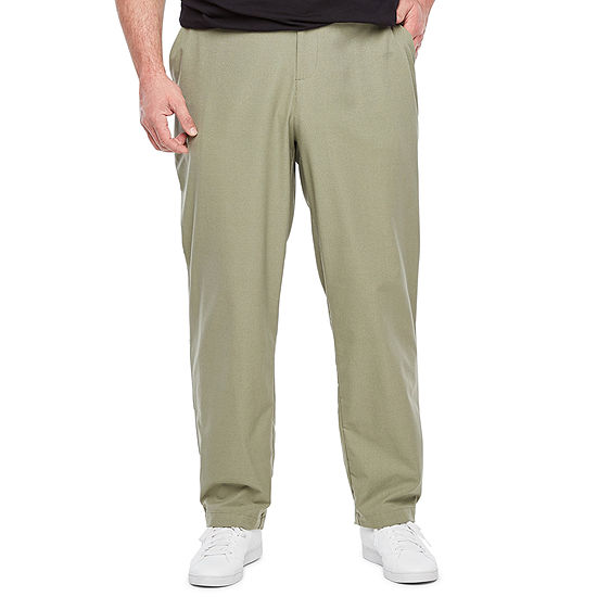 Msx By Michael Strahan Mens Flat Front Pant-Big and Tall