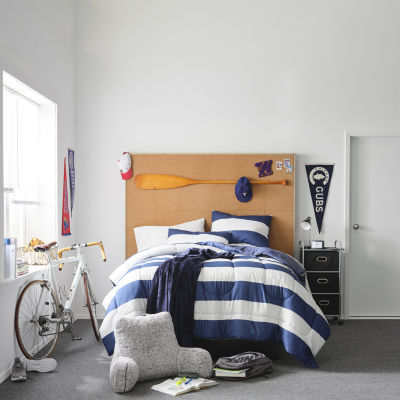 Home Expressions Rugby Stripe Comforter Set